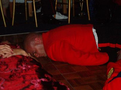 Queens Guards (Grenadier Guards) Stage Hypnosis show - Hypnotist Kris Anthony